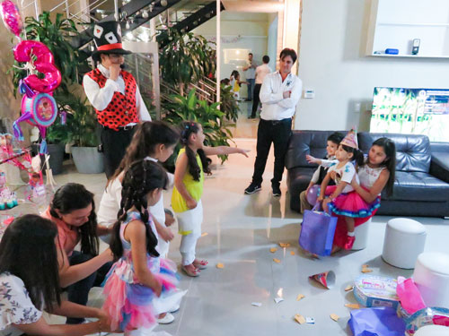 El mejor show de magia para el cumpleaños de Silvana